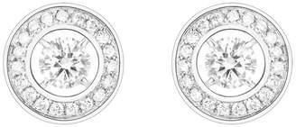 Boucheron White Gold and Diamond Ava Earrings