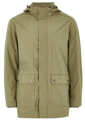 Topman Mens SELECTED HOMME Khaki Parka