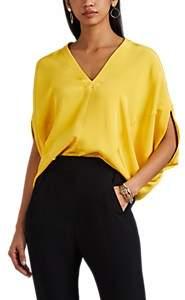 Zero Maria Cornejo Women's Mala Silk Crepe Top - Smile Yellow