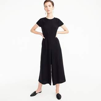 J.Crew Tall drapey wrap-back jumpsuit