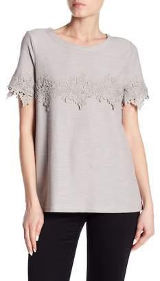 Doe & Rae Floral Crochet Lace Blouse