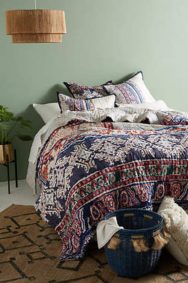 Anthropologie Artisan Quilts by Risa Quilt