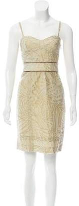 Diane von Furstenberg Sleeveless Goldie Mini Dress