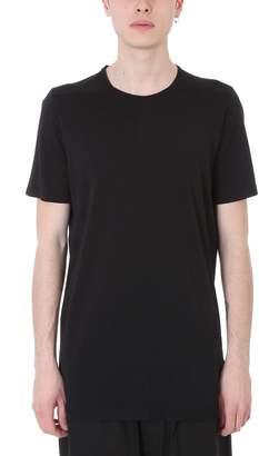 Drkshdw Level Tee Black Cotton T-shirt