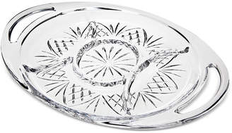Godinger Dublin Sectional Handled Tray