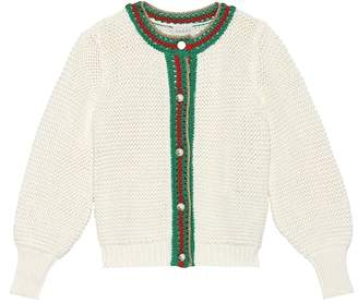 Gucci Kids Cotton cardigan