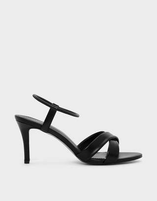 2b369de03165 Charles   Keith Criss Cross Heeled Sandals