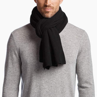 b510074ea1d at James Perse · James Perse LIGHTWEIGHT CASHMERE RIBBED SCARF