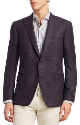 Saks Fifth Avenue COLLECTION BY SAMUELSOHN Classic-Fit Notch Lapel Sportcoat