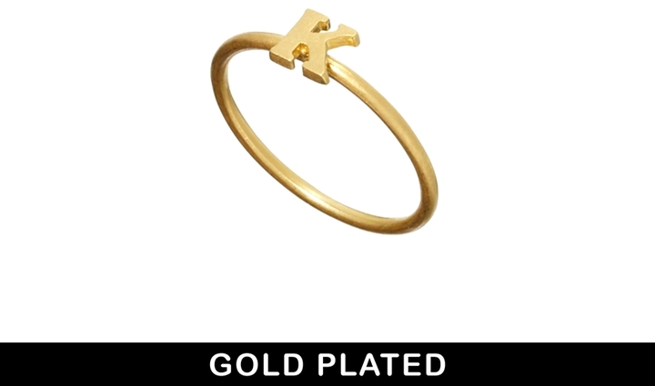 Dogeared K Ring