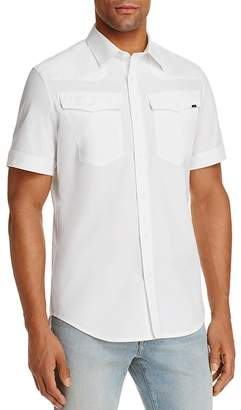 G-STAR RAW 3301 Regular Fit Button-Down Shirt $110 thestylecure.com