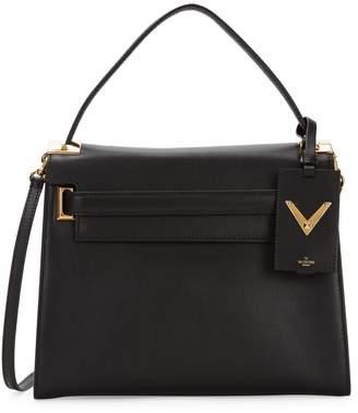 Valentino Top Handle Leather Satchel