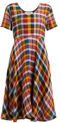 Ace&Jig Luella Checked Cotton Dress - Womens - Multi