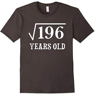 Square Root of 196 14 yrs years old 14th birthday T-Shirt