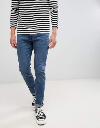 Abercrombie & Fitch skinny fit jeans in mid wash