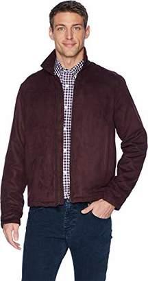 Perry Ellis Men's Faux Suede Shirt Jacket