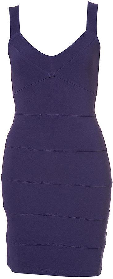 Lattice Back Bodycon Dress