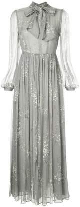 Co floral print maxi dress