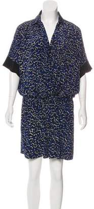 Barbara Bui Silk Knee-Length Dress