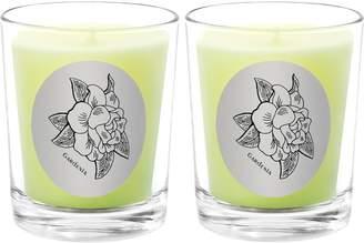 Qualitas Candles Gardenia Beeswax Candles (Set of 2) (6.5 OZ)
