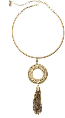 Erica Lyons Nov El Torc Necks Womens Round Collar Necklace