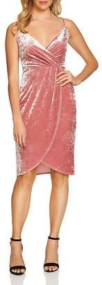 Cynthia Steffe CeCe by Audrey Velvet Wrap Dress