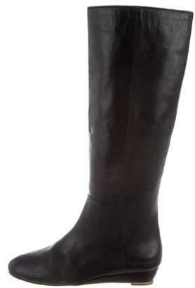 Loeffler Randall Leather Knee Boots 2016