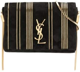 Saint Laurent striped square crossbody bag