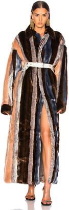 Y/Project Faux Fur Coat