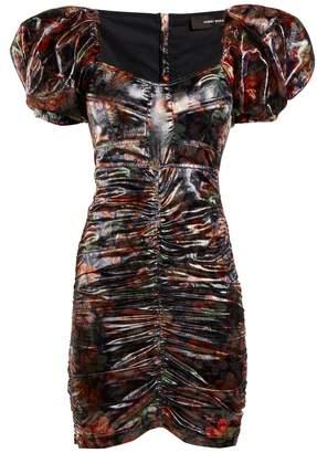 Isabel Marant Oxalis floral-print puff-sleeved dress