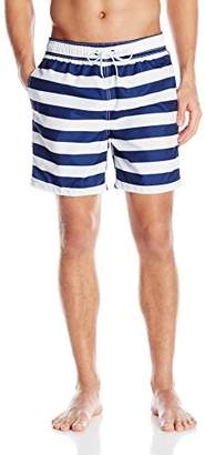 Kanu Surf Men's Troy Stripe Swim Trunks