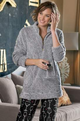 Soft Surroundings Luxe Sherpa Pullover