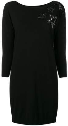 Liu Jo embellished sweater dress