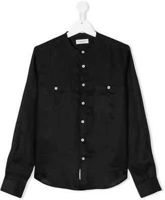 Paolo Pecora Kids TEEN collarless shirt