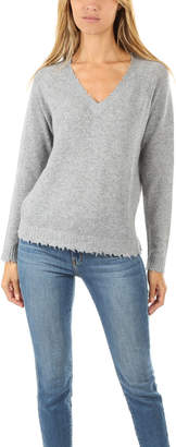 Minnie Rose V Neck Sweater