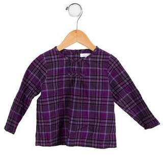 Burberry Girls' Printed Long Sleeve Top