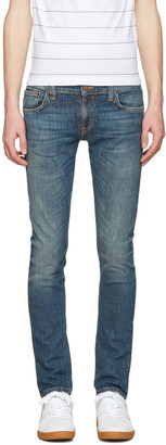Nudie Jeans Indigo Long John Jeans $220 thestylecure.com