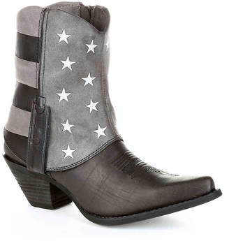 Durango Flag Western Cowboy Boot -Black/Grey/White - Women's