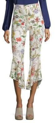 Parker Zizi Printed Flare Pants