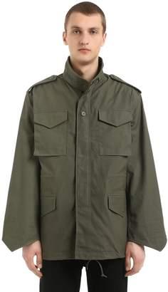 Alpha Industries Oversized Cotton Field Jacket