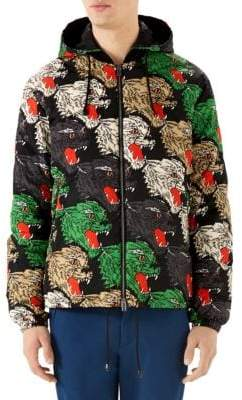 Gucci Panther-Print Jacket