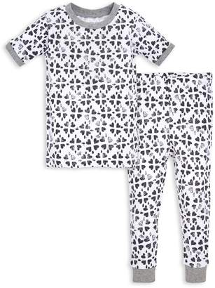 Burt's Bees Stamped Hearts Organic Baby Pajamas