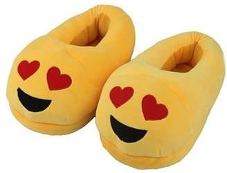 IGIA Smilie Emoji Bedroom Slippers Soft Comfortable No-Slip Cute Slipper