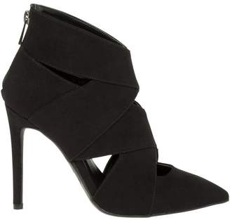 Le Château Women's Pointy Toe High Heel Cut Out Boot