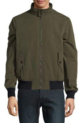 Brooks Brothers Red Fleece Out RF Bomber Jacket