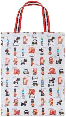 Harrods City Bear Medium Shopper Bag