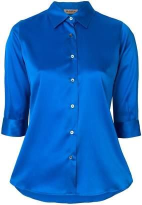 Blanca 3/4 sleeve sheen shirt