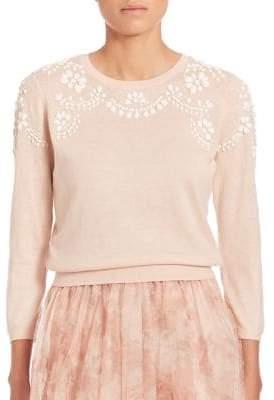 Jenny Yoo Millie Embellished Sweater