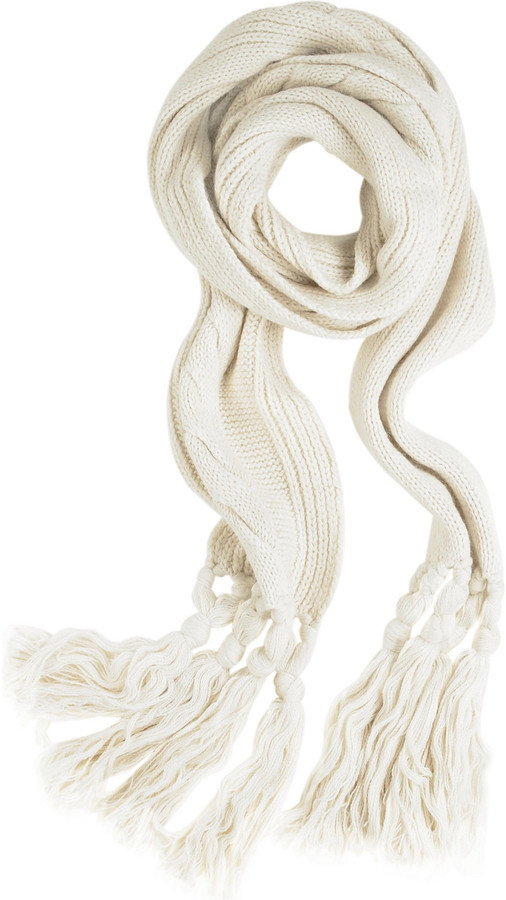 Mulberry Cable knit scarf