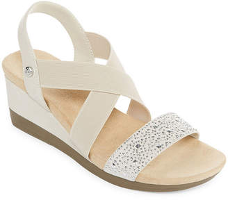 ST. JOHN'S BAY Womens Warner Wedge Sandals